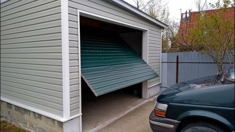 Подъемный механизм для ворот гаража
