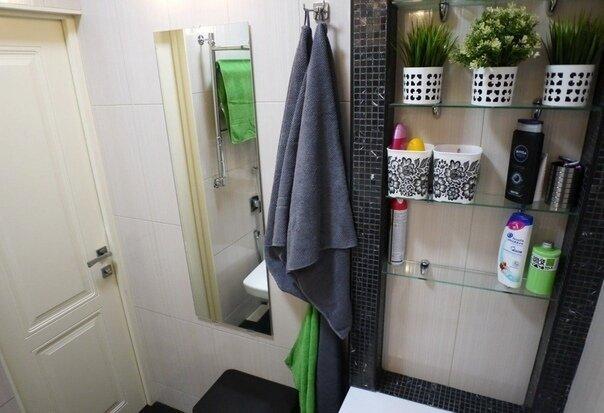 Сделал сам ремонт ванной за 55 тыс. руб. Бюджетный вариант. Вот что вышло.
