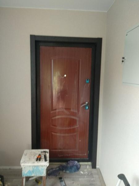 Сэкономил 1200р. Сделал сам монтаж доборных элементов на входные двери. Делюсь пошаговым руководством.