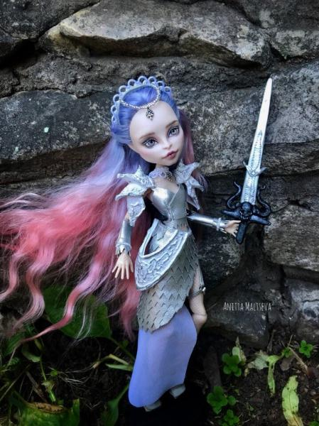 Вы ждали - я сделала. Итог работы над созданием кукольного образа девушки-дракона