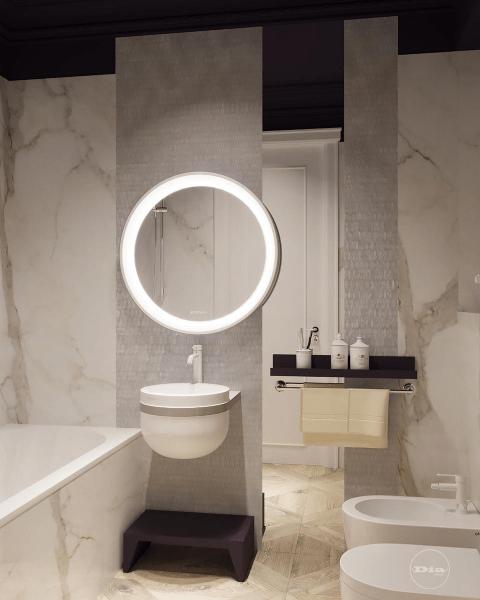 7 фотоидей стильных зеркал в ванную комнату!