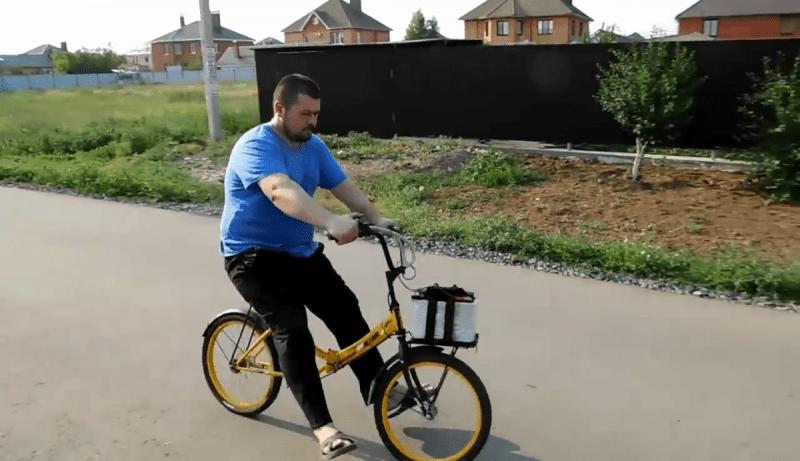 Дельная идея по применению двигателя шуруповерта - делаем из велосипеда мощный электровелосипед