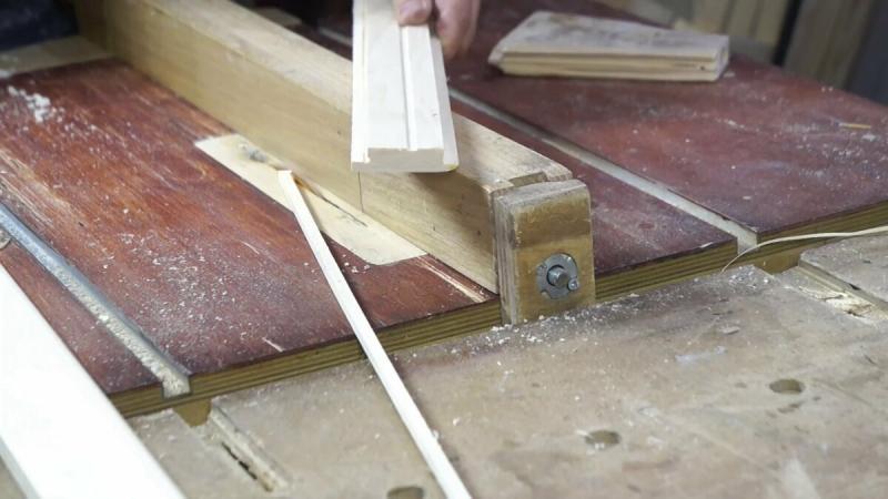 Изготовление двери в баню из обрезков вагонки