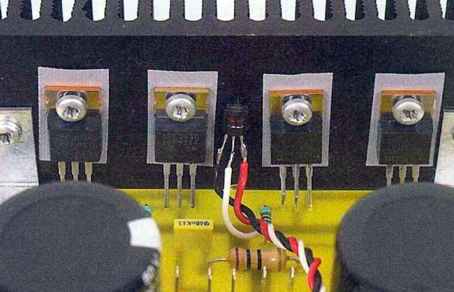 Не сложный низкочастотный усилитель мощности на полевых транзисторах