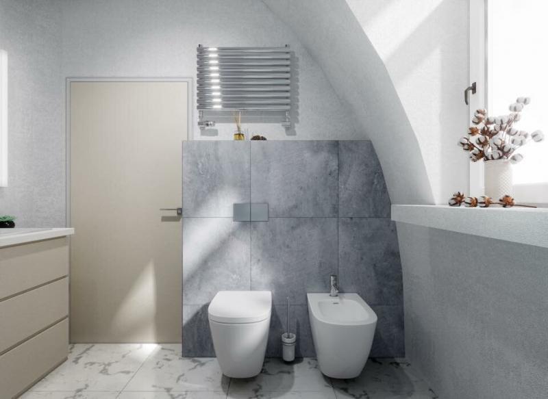 Особенности ванной комнаты в купольных домах Dome-Dom