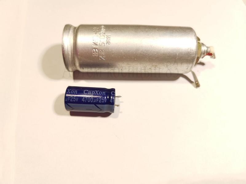 Почему старые электролитические конденсаторы больше современных при одинаковой емкости