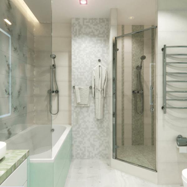 Показываю 7 способов, как зрительно увеличить пространство в ванной
