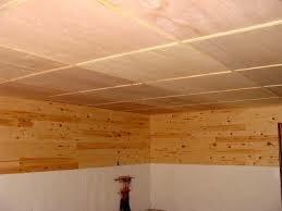 Потолок в бане: виды и монтаж