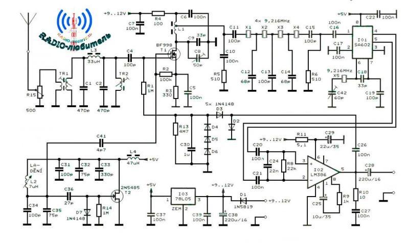 Радиолюбительский SSB-приемник на диапазон 80 метров