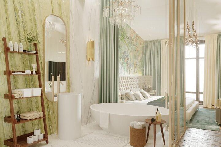 Вечные стили для ванной комнаты
