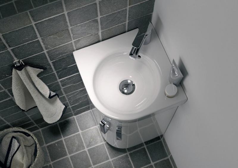 Выбираем раковину в маленькую ванную
