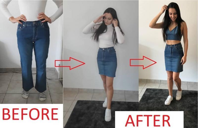 Зачем выбрасывать старые джинсы? Делюсь идеями, что можно сшить и показываю, что у меня получилось