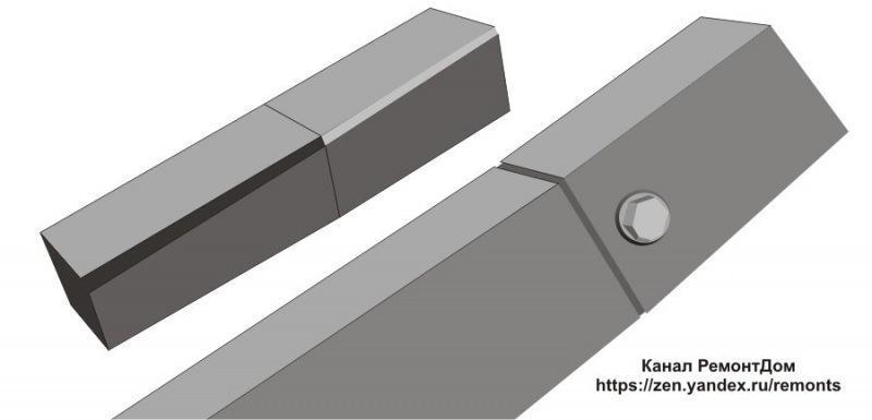 Без сварки даже крепче: соединение профильных труб (+ хитрый способ от старых мастеров)