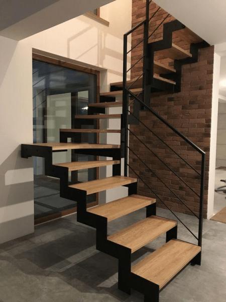 Изготовление и монтаж лестниц для дома