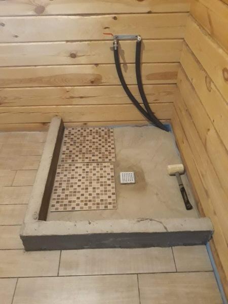 Много вопросов про наш душевой уголок в деревянном доме... отвечаю.