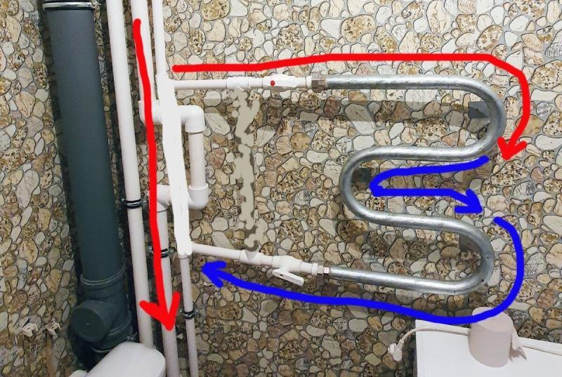 Настоящий сантехник наглядно рассказывает нужно ли ставить кран на перемычку полотенцесушителя