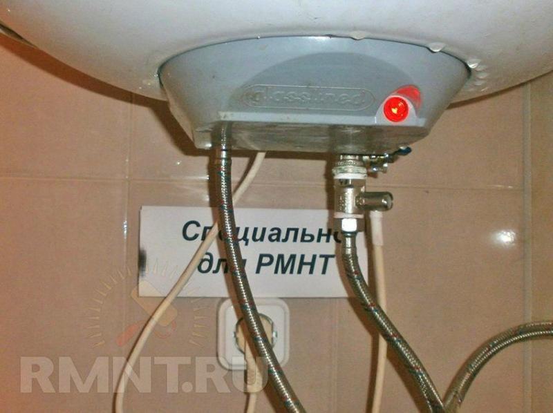 Чистка нагревательного бойлера