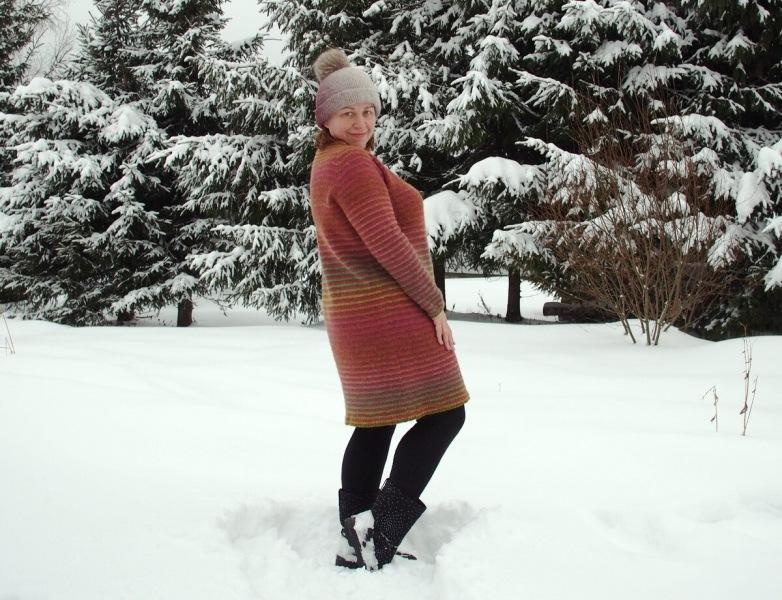 Я его связала!.. Научные данные о моём зимнем платье из шерсти