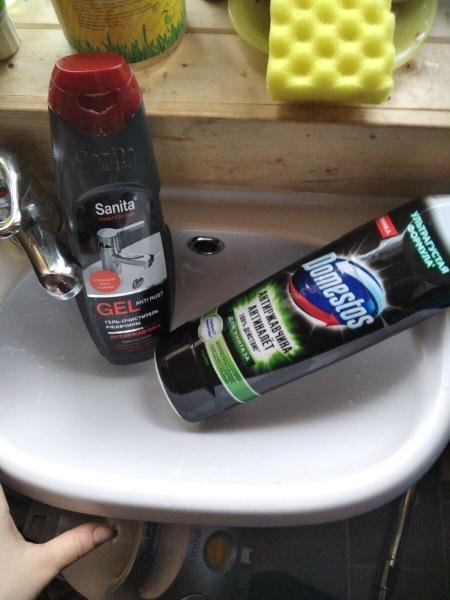 Частный дом: ржавая вода и белая сантехника