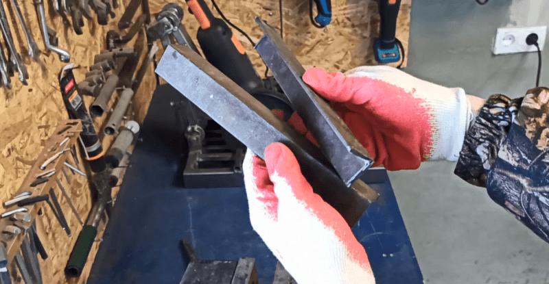 Практичный инструмент из двух уголков и болта, своими руками за 5 минут