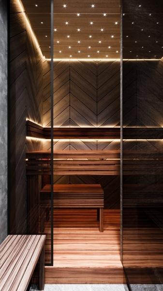 Свежие идеи интерьера ванной. Имитации натуральных материалов. Камень, дерево