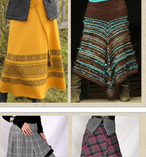 Все о юбках с уклоном в бохо: шьем, вяжем, собираем из лоскута - 13 статей и более 450 фото с моделями, схемами и выкройками
