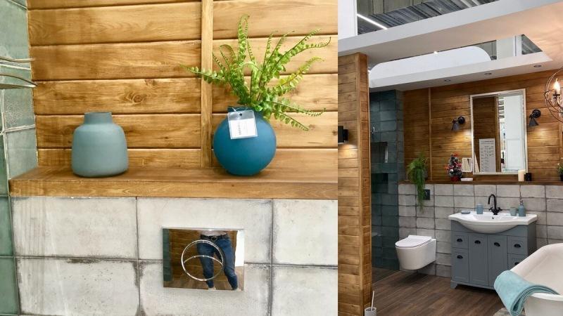 Дизайнерские приемы в ванной комнате Леруа Мерлен