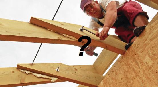 «Грубейшая ошибка стягивать стропила резьбовыми шпильками». Как стягивают фермы опытные плотники?