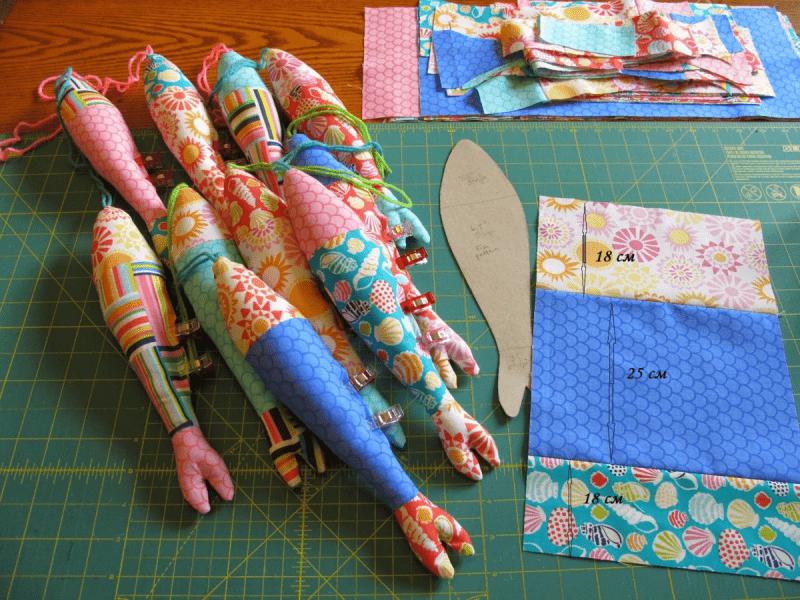 Из маленьких лоскутков ткани (и куда их применить)