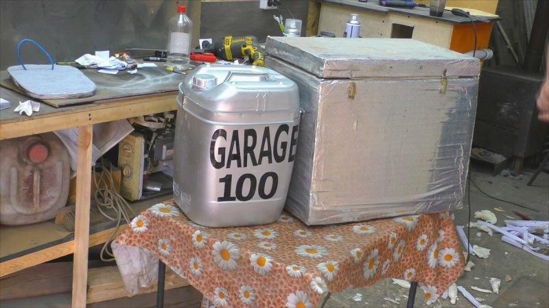 Самоделка для дома и дачи из старой 20-ти литровой канистры, которая радует семью 8 месяцев в году