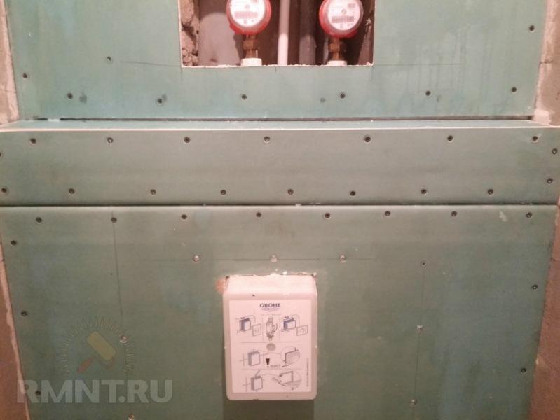 Тонкости отделки плиткой, или как «спрятать» коммуникации санузла