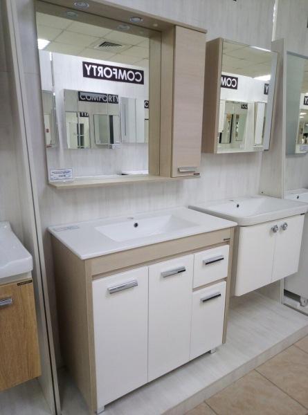 Выбираем тумбу с раковиной в ванную комнату: что удалось посмотреть и что в итоге купили