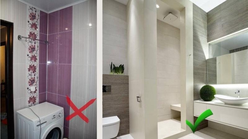 5 ошибок ремонта, которые испортят вашу ванную комнату. Как НЕ НАДО ДЕЛАТЬ