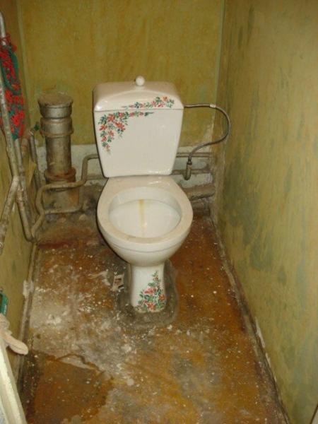 """Друзья сделали ремонт в ванной и туалете в """"хрущевке"""" без сноса стены. И не верится что так возможно сделать в """"хрущевке""""!"""