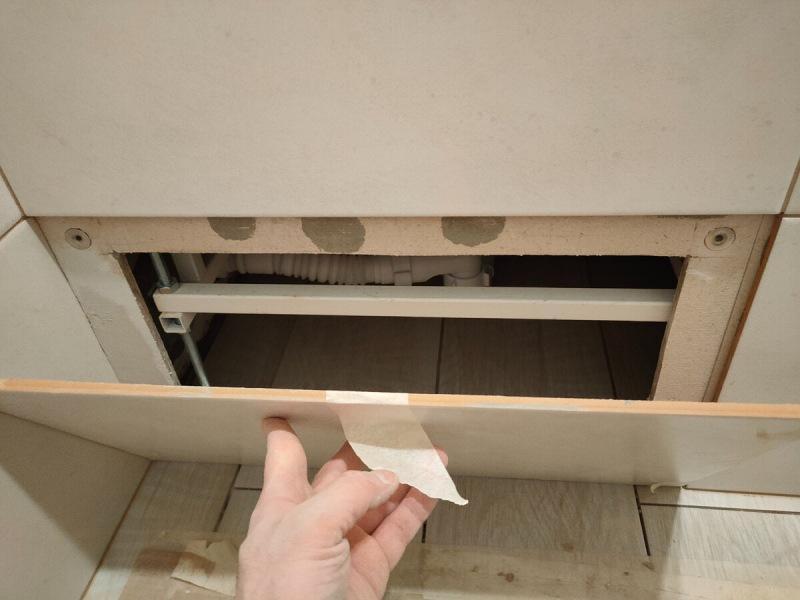 """Как легко сделать люк """"невидимку"""" из плитки. Просто, дешего, практично, красиво. Показываю."""
