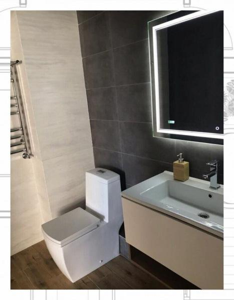 Сделали ремонт маленькой ванной в современном стиле, но поняли, что перемудрили. Несколько советов о том, как делать не стоит
