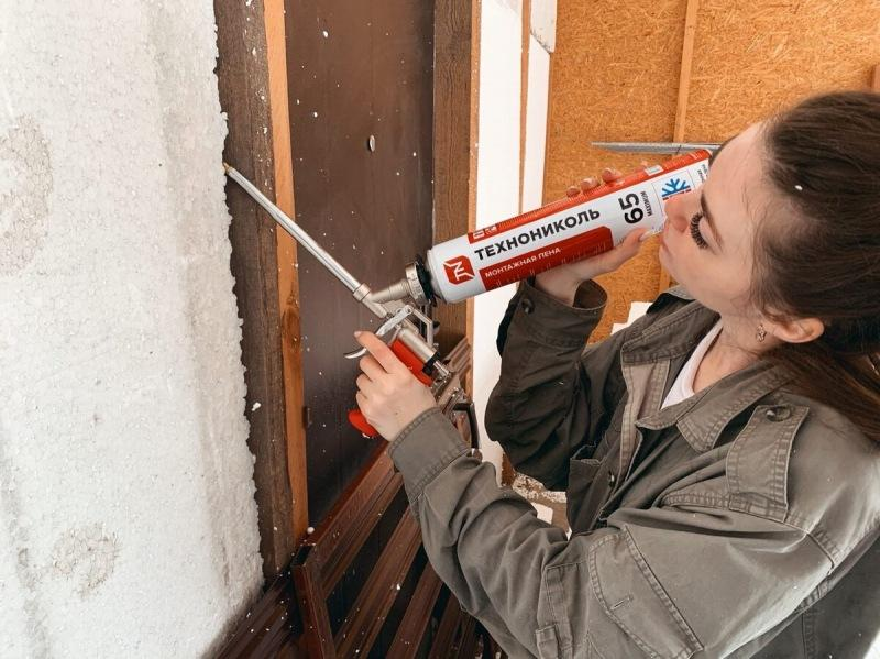 За день сделали гараж (6 на 8м) в 2 раза теплее, потратив на это 14 тысяч рублей.