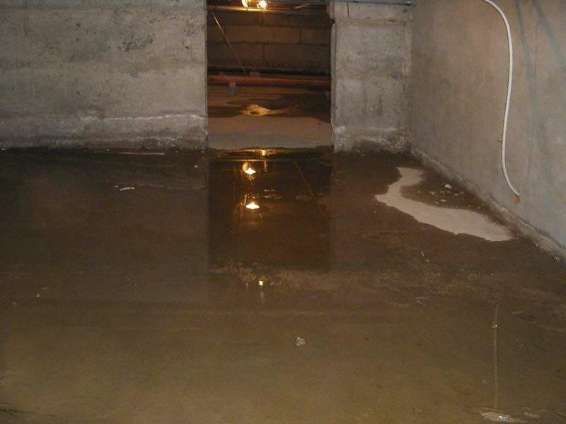 Что делать, если в подвале вода