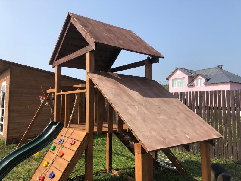 Детская площадка готова!