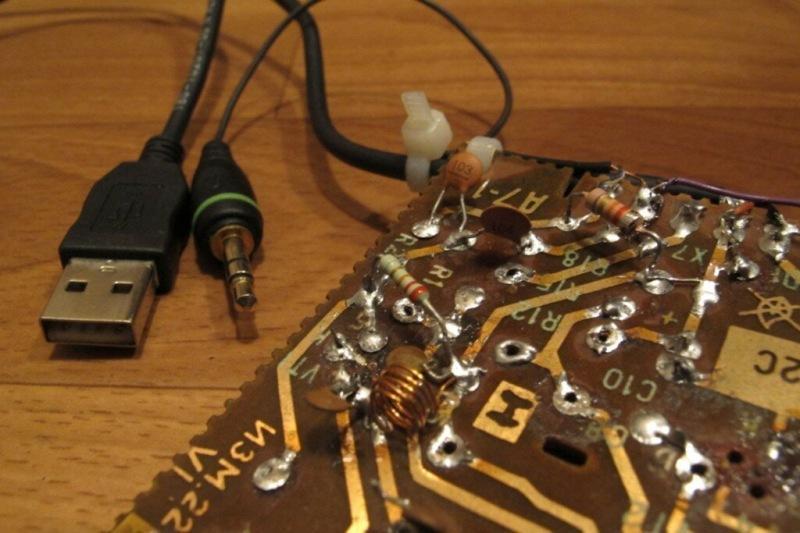 FM передатчик на одном транзисторе