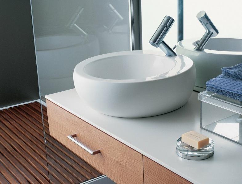 Геометрия в ванной комнате: основные приемы по изменению пространства