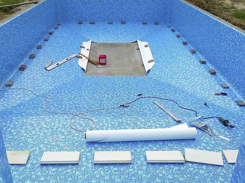 Гидроизоляция бассейна своими руками