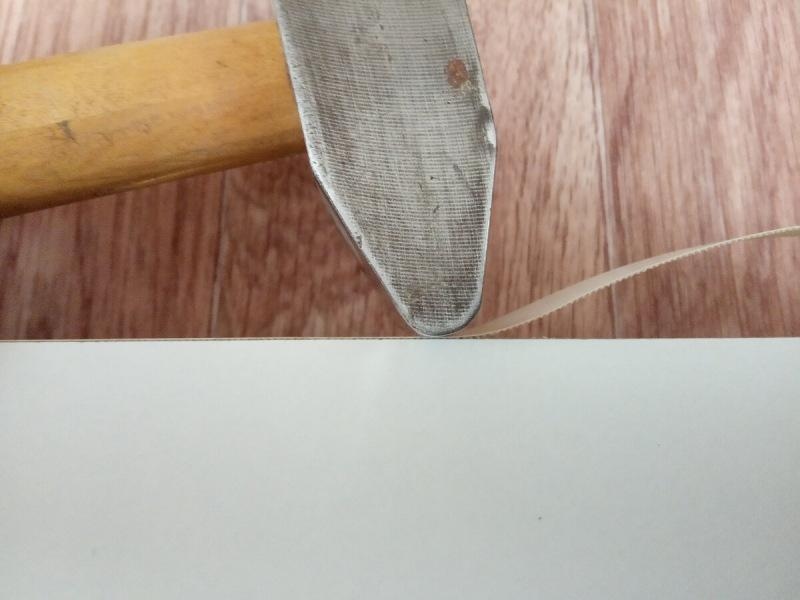 Как приклеить кромку утюгом, чтобы не отваливалась