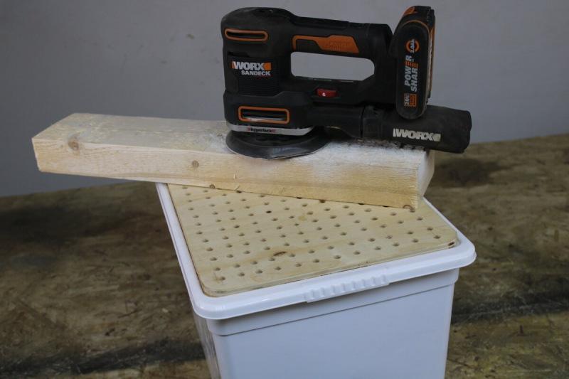 Как сделать нисходящий пылеуловитель для гаража или мастерской, сэкономив деньги