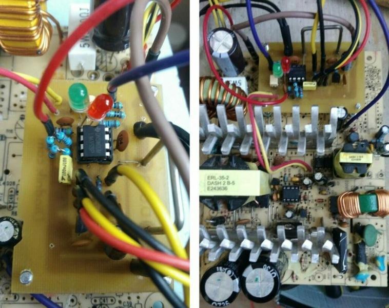 Переделка очередного компьютерного блока питания в лабораторный, - на ШИМ UC3843