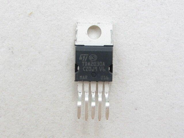 Схема усилителя на TDA2030A.