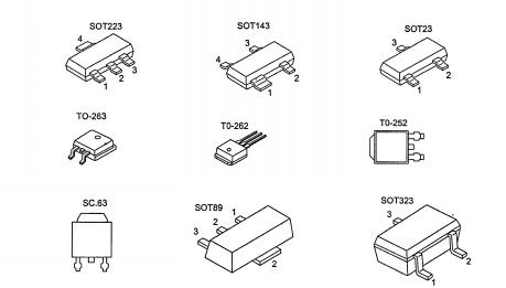 Компоненты SMD. Что такое SMD-компоненты. Основные типы SMD-компонентов.
