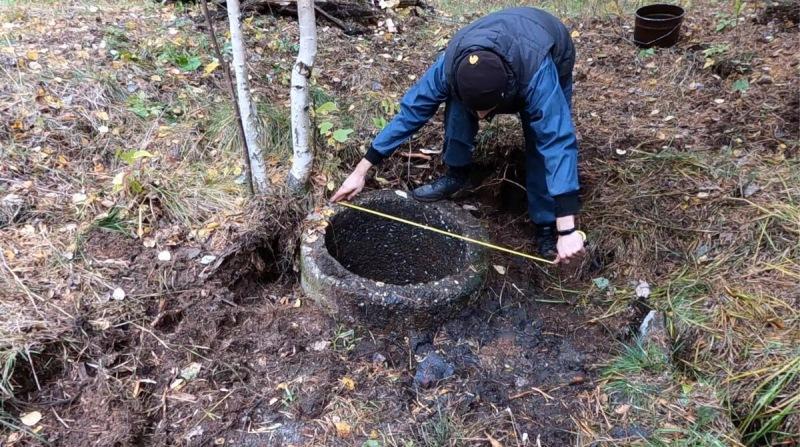 Восстановление лесного колодца. Подготовительные работы и интересные находки