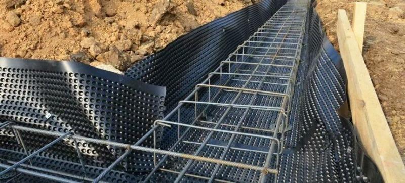 Рулонная гидроизоляция для фундамента