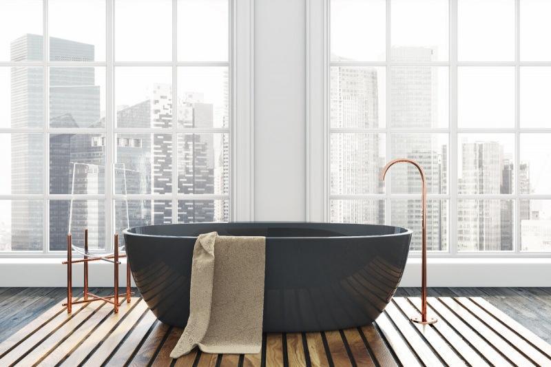 В чем преимущества ванн из литьевого мрамора?